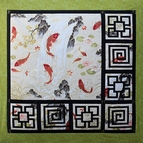 Koi Waterfall (Quilt Kit)