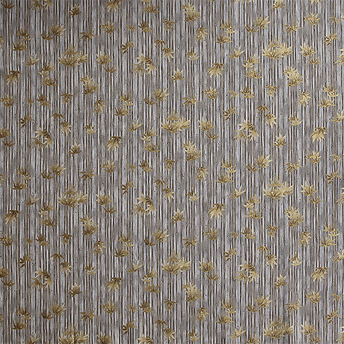 Gold Bamboo on Grey
