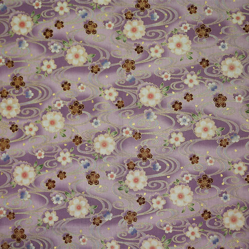 Lilac Floral Swirls