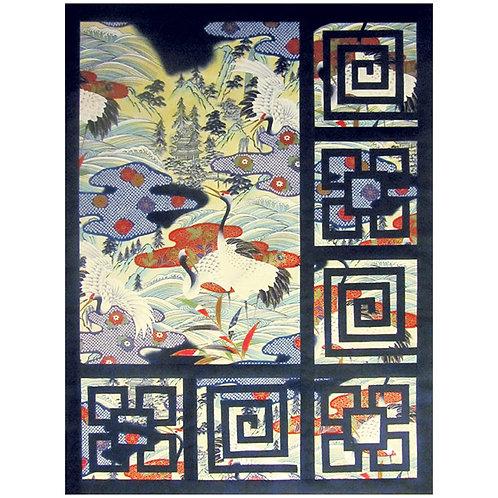 Oriental Cranes (Pattern)