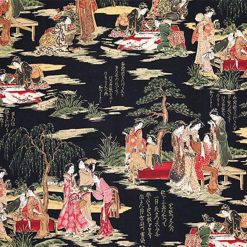 Black Geisha Scenes