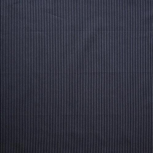 Indigo Navy Pinstripe