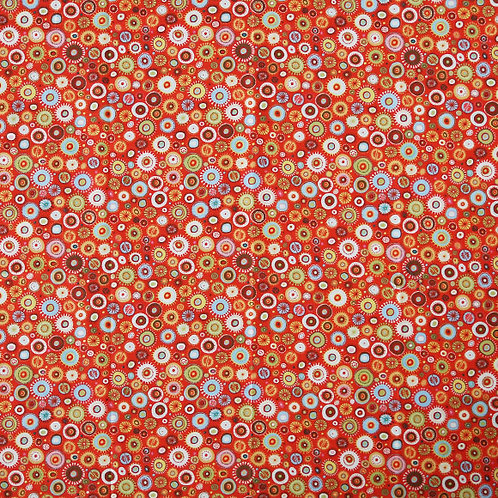 Multi Orange Spots