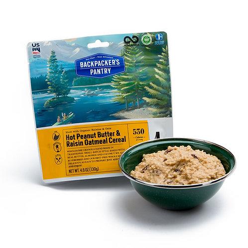 Peanut Butter & Raisin Oatmeal