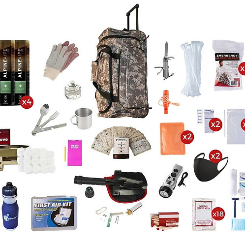 Deluxe Food Storage Survival Kit (14 Day)