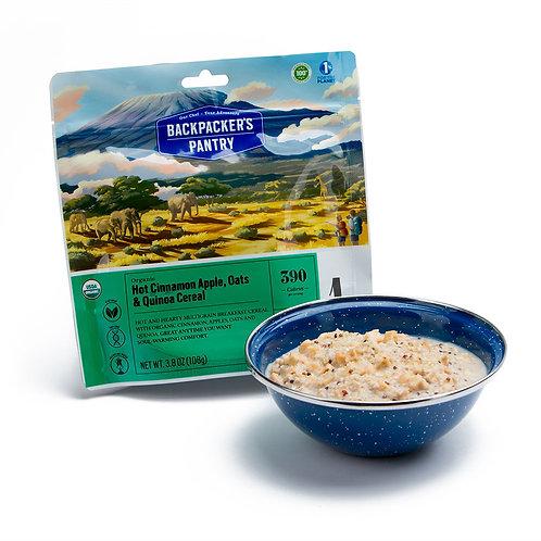 Organic  Cinnamon Apple Oatmeal w/ Hemp and Quinoa