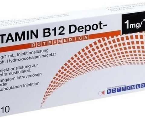 B12 Injection Ampules 10 x 1ml