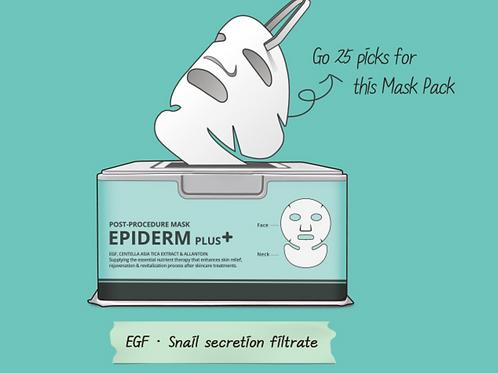 Epiderm+Post Procedure Mask x 25