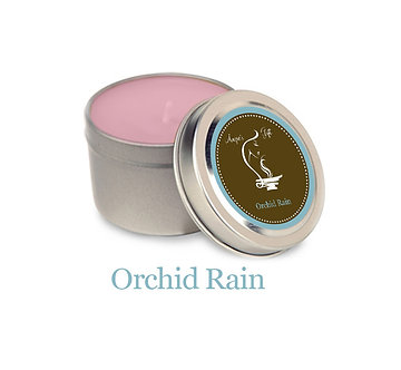Container Candle - Orchid Rain