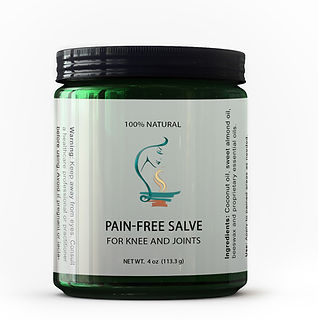 therapeutic pain-free salve, organic salve for knee and joints