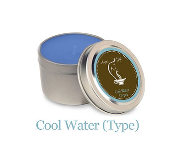 Container Candle - Cool Water (Type)
