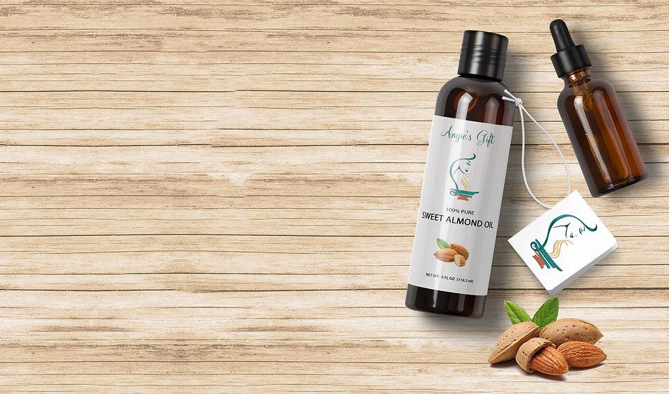 organic sweet almond carrier oil, sweet almond massage oil, cold-pressed sweet almond carrier oil