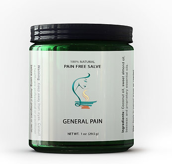 General Pain-Free Salve (PROMO CODE: painfree)