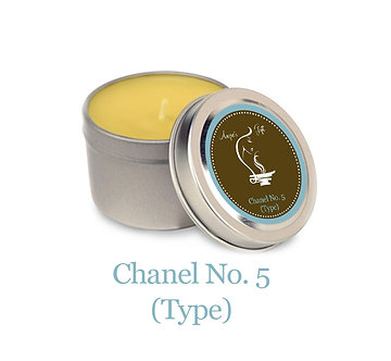 Container Candle - Chanel No.5 (Type)
