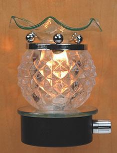 Plug-In Oil Warmer: Diamond Ball
