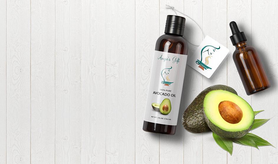organic avocado carrier oil, cold-pressed avocado carrier oil