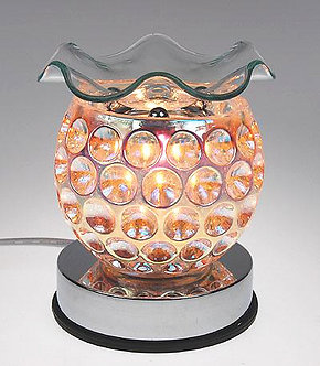 Iridescent Crystal Bubbles Touch Oil Warmer