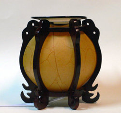 Asian Dome-Style Electric Oil Warmer