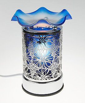 Tin Lace Touch Oil Warmer