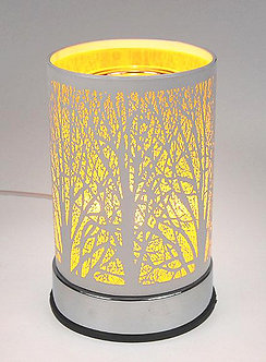Tin Forest Touch Oil Warmer