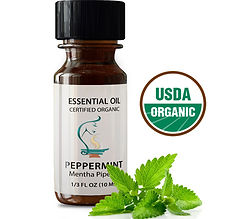 peppermint essential oil, aromatherapy essential oil, organic essential oil
