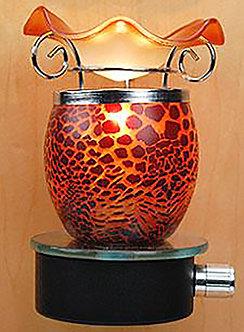 Plug-In Oil Warmer: Red Lava