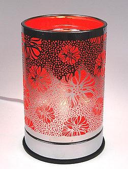 Tin Flower Touch Oil Warmer