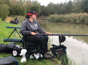 Lottie pole fishing.jpg