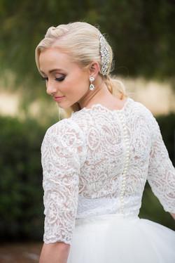 Soft and Natural Bridal look