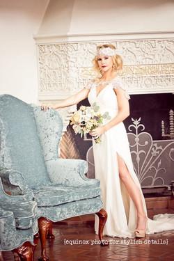 Vintage Bridal Hair/Airbrush Makeup