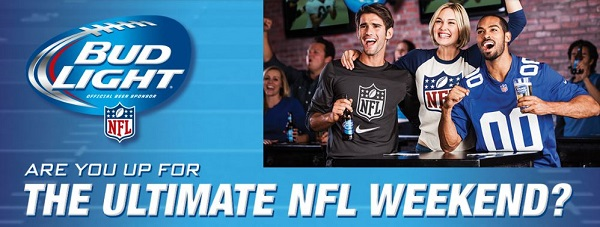 Budlight NFL Football dezi V