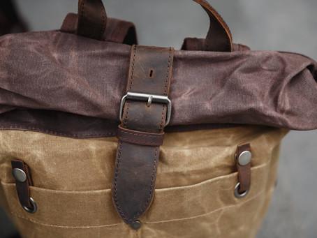 Как очистить рюкзак из канваса от загрязнений?