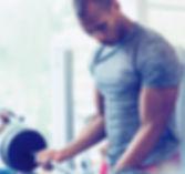 Man-at-Fitness-Studio