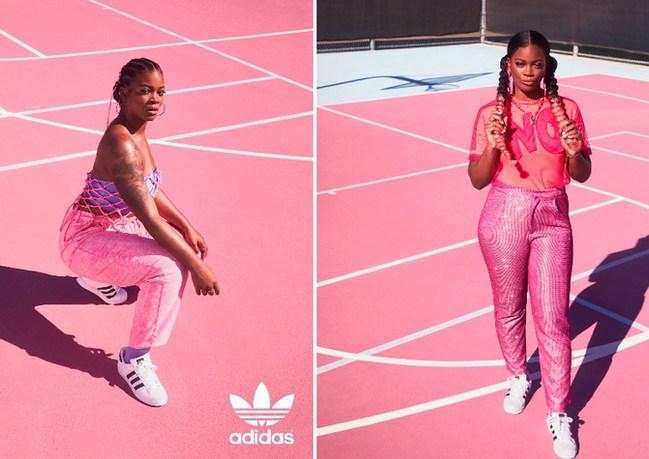 Ari Lennox for HERCOURT Adidas AD