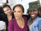 Celebrity Hairstylist LeAna Mcknight with Freda Payne