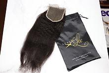 Stylist Lee Kinky Straight Hair Closure Bundles Sale