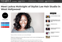Interview with Le'Ana Mcknight