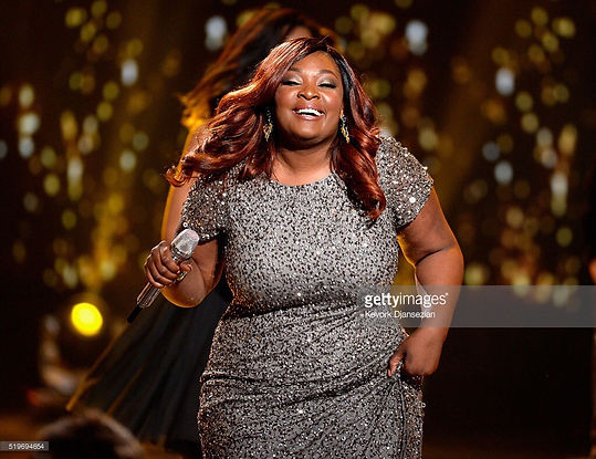Candance Glover hairstyled by Leana Mcknight American Idol