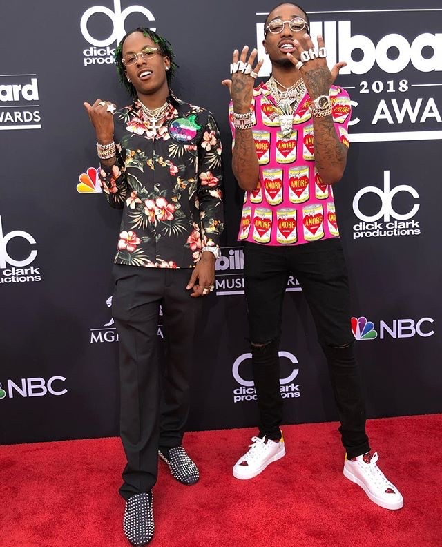 Rich the Kid & Quavo at BBMAs 2018