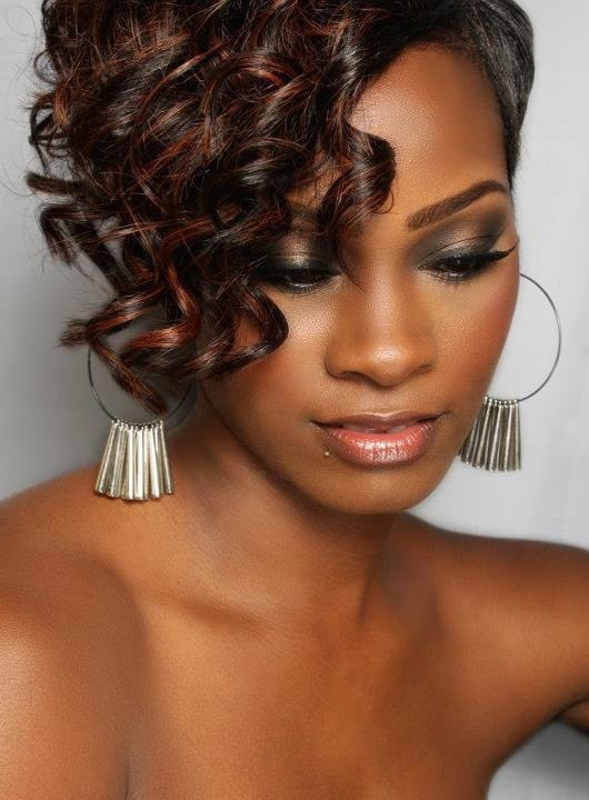 Short cut w/ Curl - Stylist Lee