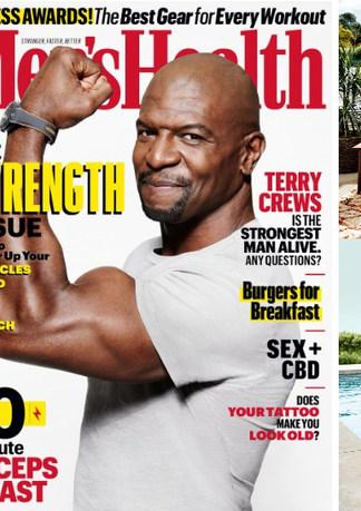 Terry Crews 2019 Men's Health