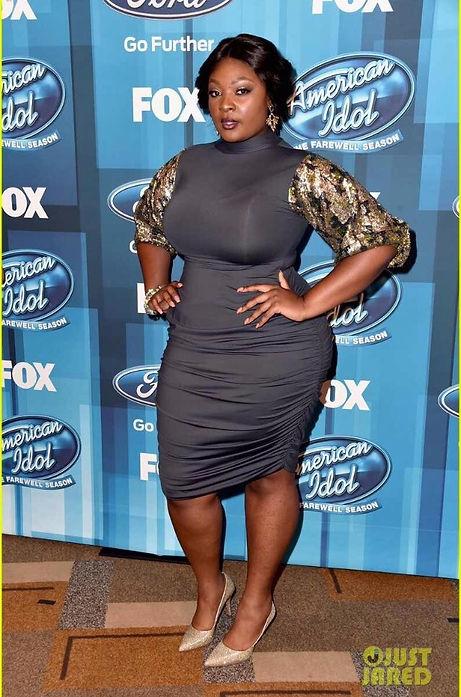 Candance Glover custom wig/ styled by Leana Mcknight at American Idol