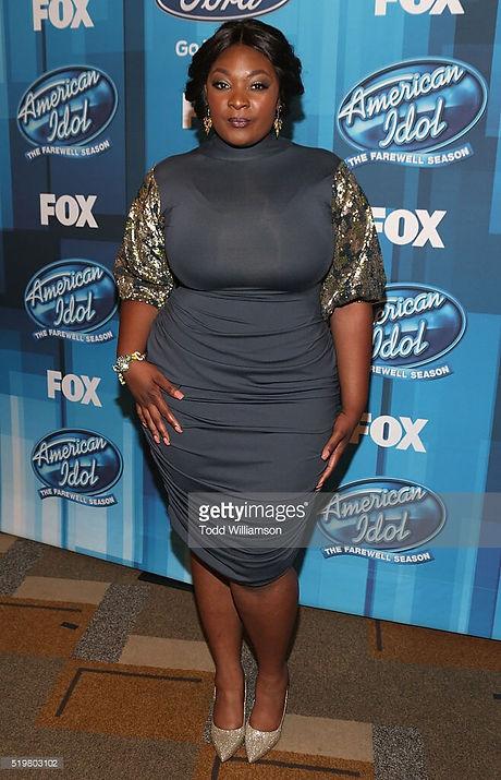 Candance Glover custom wig/ styled by Leana Mcknight American Idol