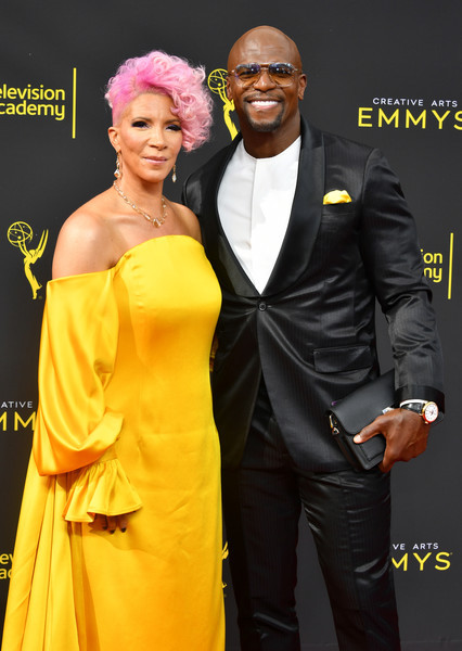 2019 Emmy's Night with Rebecca & Terry Crews