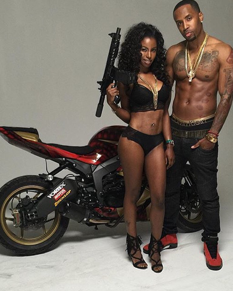 Safaree Video shoot