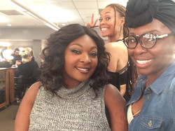Behind the scene w/ Candance Glover
