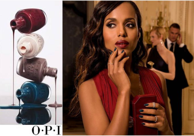 Kerry Washington OPI Advertising
