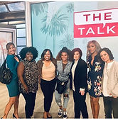 Set Walk holster on the The Talk on CBS