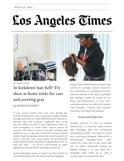 Los Angeles Times_LeAna Mcknight _Covid-