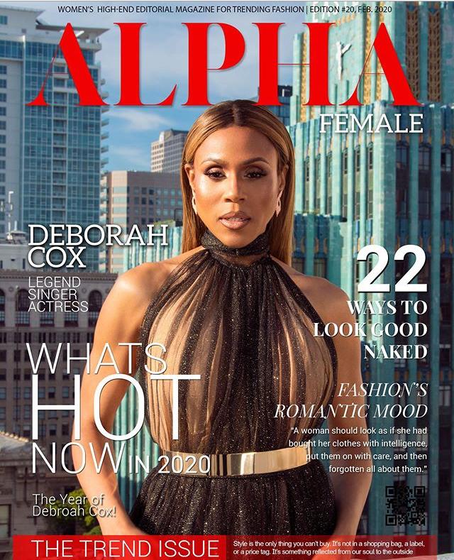 Deborah Cox Cover Mag